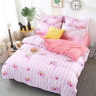 006 Pink Panther Bedsheet Set