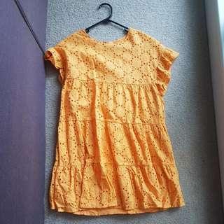 Yellow Showpo Dress