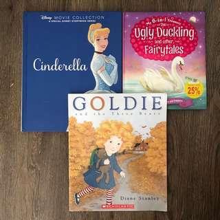 Fairytale story books