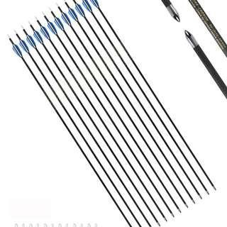 archery pandarus sp400, sp500, sp600 pure carbon arrow ( anak panah )
