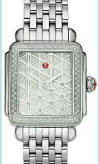 NEW WOMEN'S MICHELE DECO WATCH