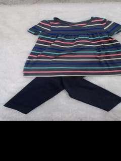 Set baju celana bayi
