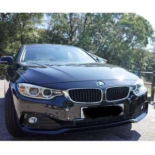 BMW 420i (1997cc) 2014