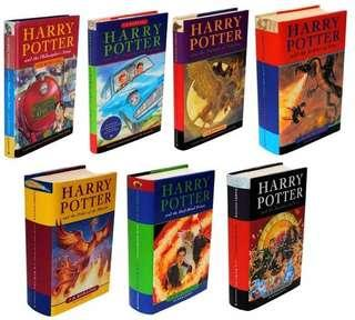 LOOKING FOR: Harry Potter First Edition, First Print Books (Bloomsbury)