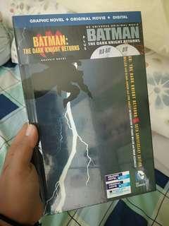 NEW & SEALED: Batman: The Dark Knight Returns Graphic Novel + Blu-Ray DVD of the Movie