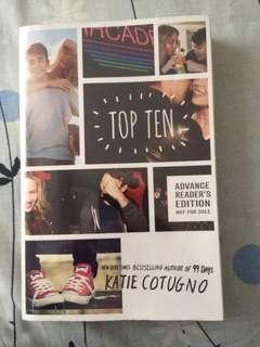 (ARC) Top Ten by Katie Cotugno