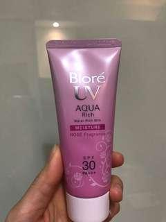Biore 防曬 rose suncream 90%