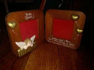 Four (4) picture frames + free prayer book