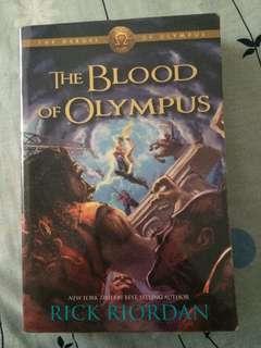 The Heroes Of Olympus: The Blood Of Olympus
