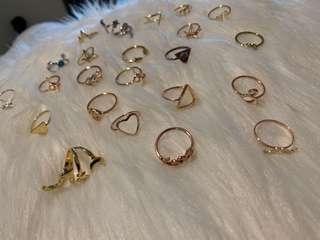 $2 each rings