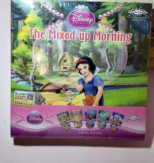 Princess 白雪公主系列全套5本 (連CD)