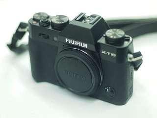 fujifilm xt10 body