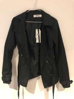 ASOS short trench coat (navy)