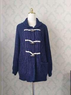 Duffle winter coat /sweater #jan55