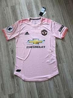 🎉 MANCHESTER UNITED PINK JERSEY MANCHESTER UNITED AWAY KIT 18/19 MANCHESTER UNITED JERSEY KIT