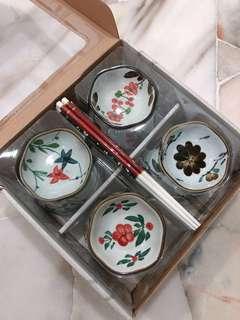 🆕Glass tableware set