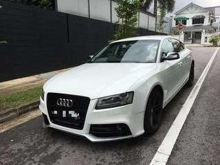 Audi A5 Rental (Self Drive or Chauffeured)