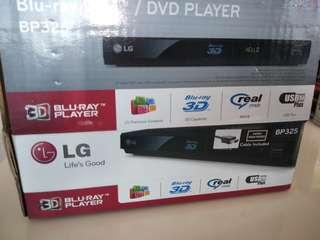 LG blu ray disc DVD player bp325 (missing power cable)