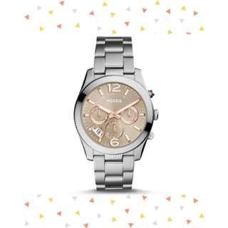 🚚 Fossil ES4146 Women's Perfect Boyfriend Sport Multifunction Stainless Steel Watch