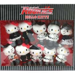 Hello Kitty X Rookies whole set (((NO BARGAIN, PLS!! 拜托!!)))