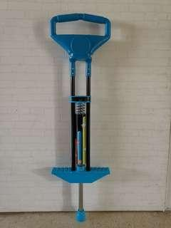 1 x used once Pogo stick with box and free delivery
