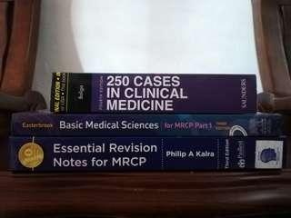 Secondhand Medical books