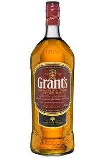 Grants whisky / wines