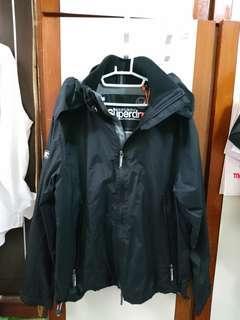🚚 全新黑色SUPER DRY防風外套