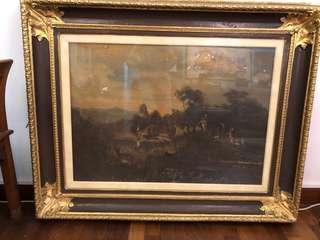 150 years old painting