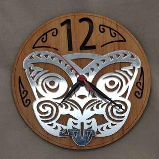 Maori Clock from New Zealand