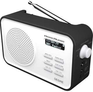 MoreAudio portable digital radio