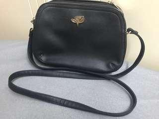 Black sling bag - small size