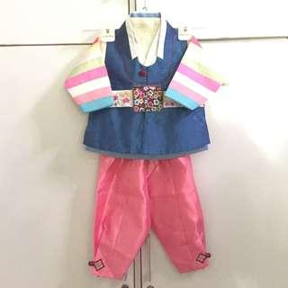 Hanbok Anak Laki Made in Korea (Original-Authentic)