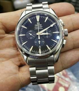 Omega Seamaster automatic chronometer Aqua Terra 150m/500ft 42mm