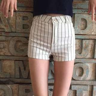 Bershka High waisted shorts #precny60