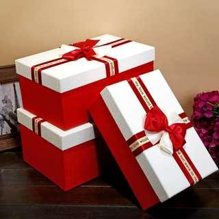 紅酒禮盒禮物盒大蝴蝶結禮物盒禮物鞋盒包裝盒