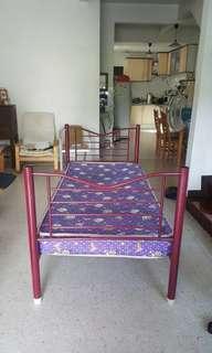 Metal Single Bed #precny60