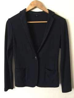 Uniqlo Navy Blue Blazer