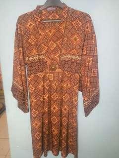 #bersihbersih Tunik batik model kimono
