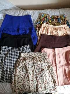 skirts/ 3 for $10