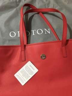 selling new Oroton Large tote bag, bought and tag removed but never used because it's too big for me