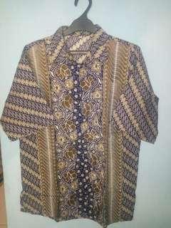 #bersihbersih Kemeja Batik
