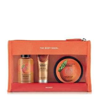 Body Shop Mango Beauty Bag