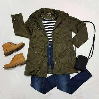 ☇LP☇Army Green Trench Coat
