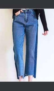 Stripes Side Jeans