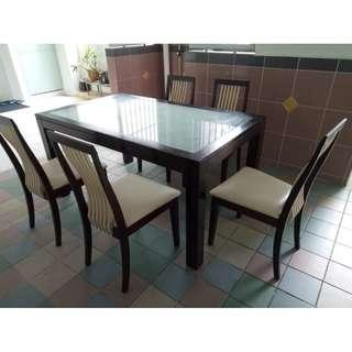 Dinning Set ($300 + free delivery & installation)