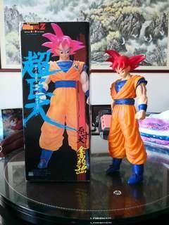 Dragon Ball: Goku God Red Hair
