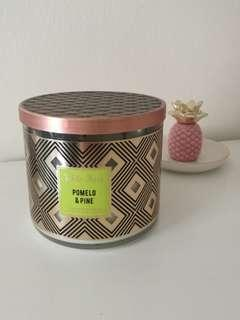 B&b works 3 wick scented candle