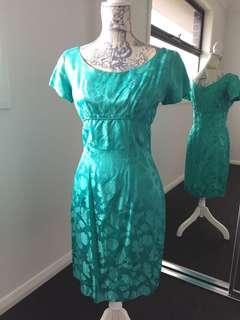 Women's original vintage retro wiggle dress
