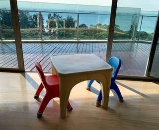 Grow'n Up Toddler Table & Chairs